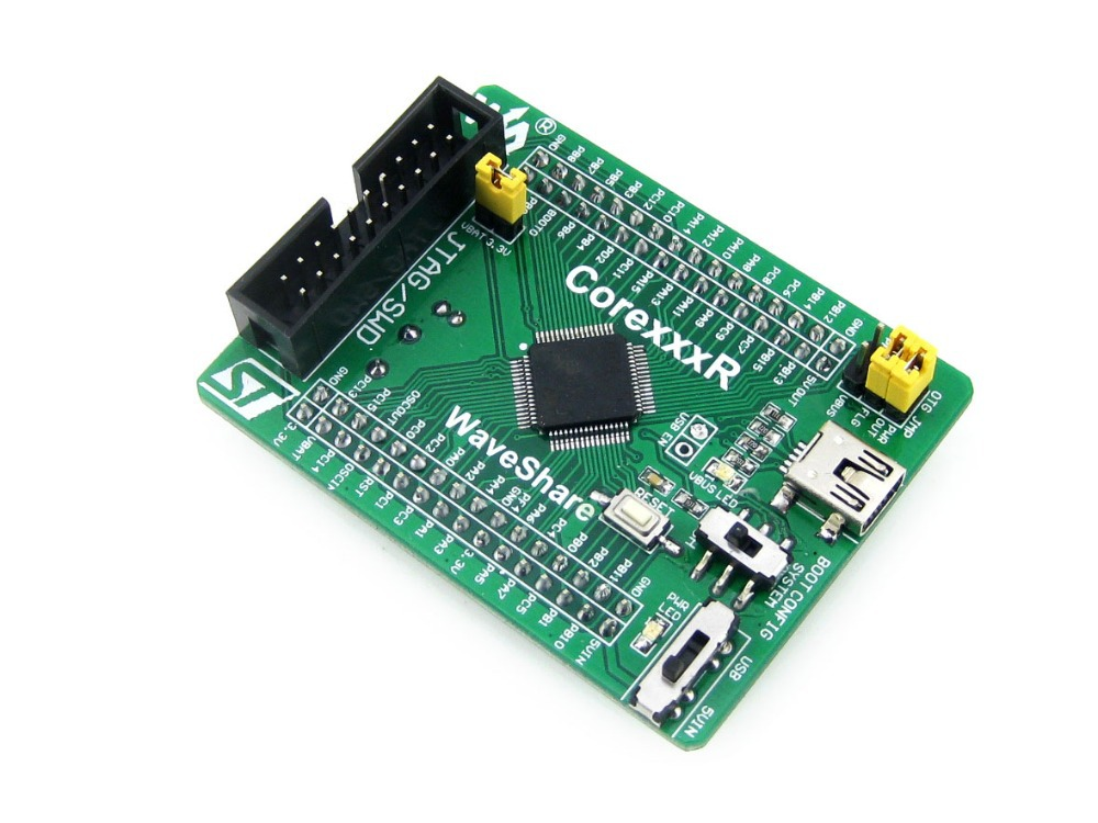 module STM32F205RBT6 STM32F205 STM32 ARM Cortex-M3 Evaluation Development Core Board with Full IOs = Core205R nxp lpc11c14 cortex m0 evaluation development board w 2 8 touch panel module blue