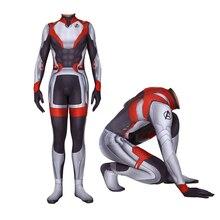Kids Adult The Avengers 4 Bodysuit Endgame Cosplay Quantum Battle Suit Zentai Superhero Halloween Concept Models BOOCRE