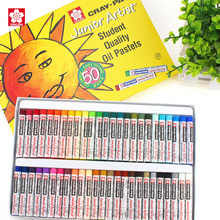 Pastels Wax Crayon Sakura-Oil Drawing Non-Toxic Kids for Students Safe Xep-12/16/25-/..