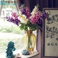 Symulacja Floral Fancy Kwiat Kwiat Jedwabiu Sen w Europejskim stylu duża Feiyan trawy Huazhike restauracja wejście dekoracji Wystrój