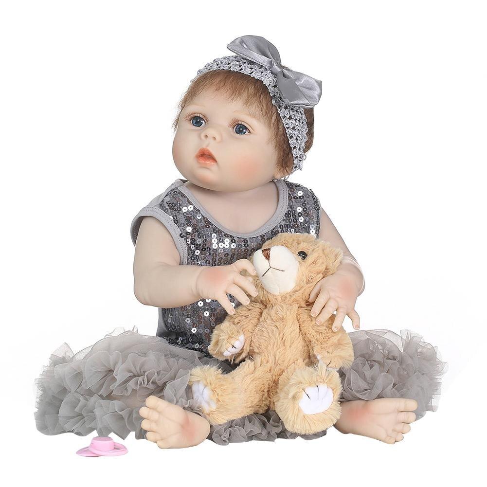 Lifelike Simulated Company Washable Dress Reborn DollLifelike Simulated Company Washable Dress Reborn Doll