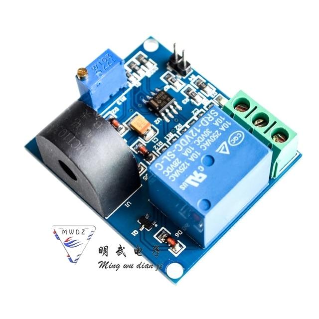 5A module de capteur de protection contre les surintensités capteur de courant alternatif relais 12V