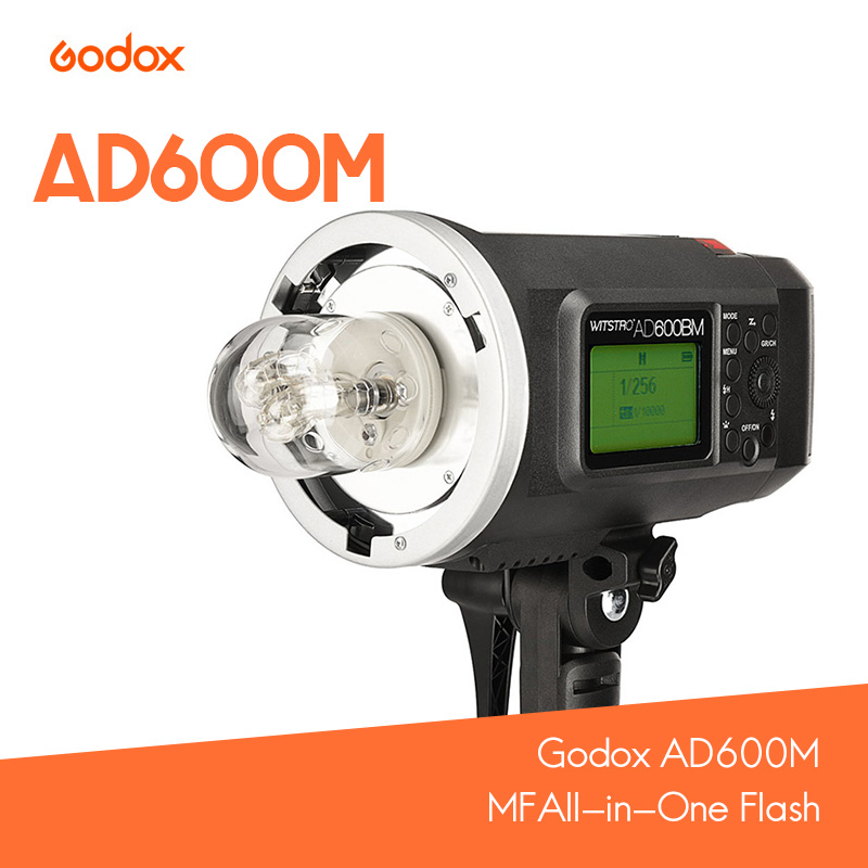 Godox AD600M MF HSS Lithium battery All-in-One Flash for Bowen/Godox Mount for Nikon / Cannon / Sony