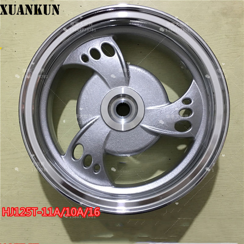 XUANKUN HJ125T-16 T-11A 125-10A  Aluminum Wheel Front And Rear Wheels шагомер omron hj 203 ed orange