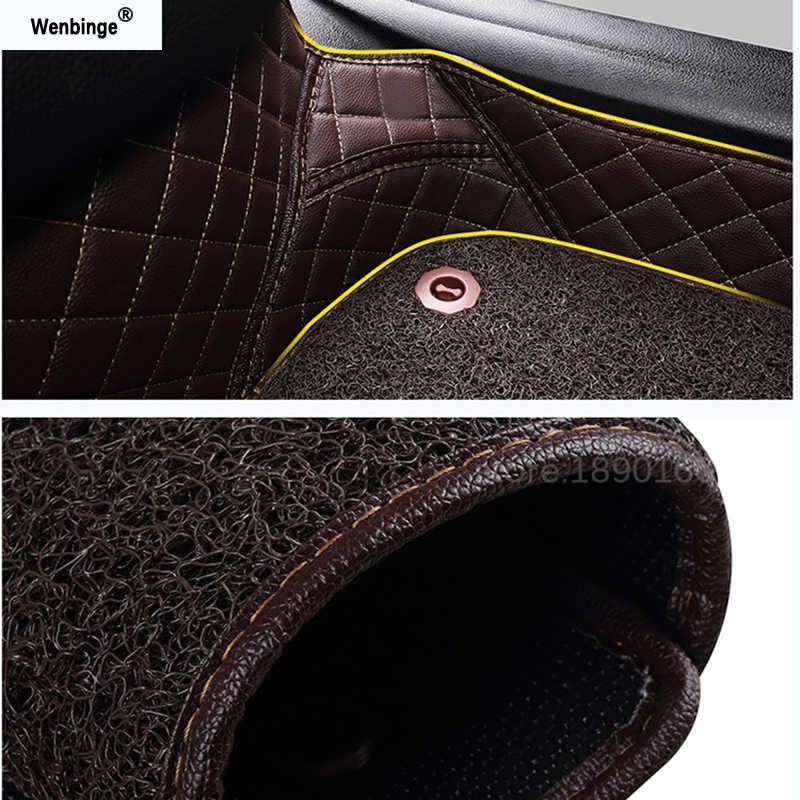 Personalizzato tappetini auto per Suzuki Jimny Grand Vitara Kizashi Swift SX4 Wagon R Tavolozze Stingray auto-styling Personalizzato stuoia del piede auto