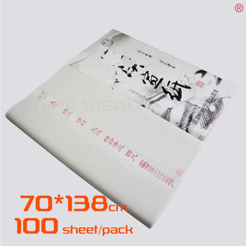 Chinese rice paper.70*138 cm Xuan paper & painting paper for Calligraphy and painting,free shipping