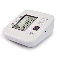 Arm Blood Pressure Monitor Heart Beat Meter Machine Tonometer For Measuring Automatic Blood Pressure Meter Esfingomanometro