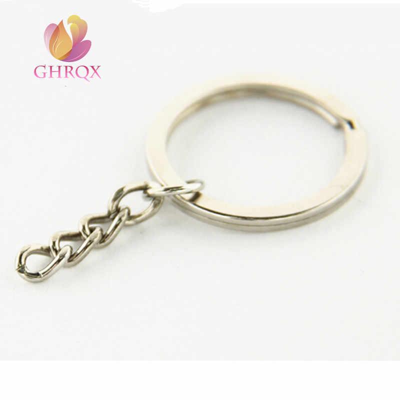 GHRQX 3 шт. металлические брелки для ключей античная бронза, золото родий цвет брелки оптом
