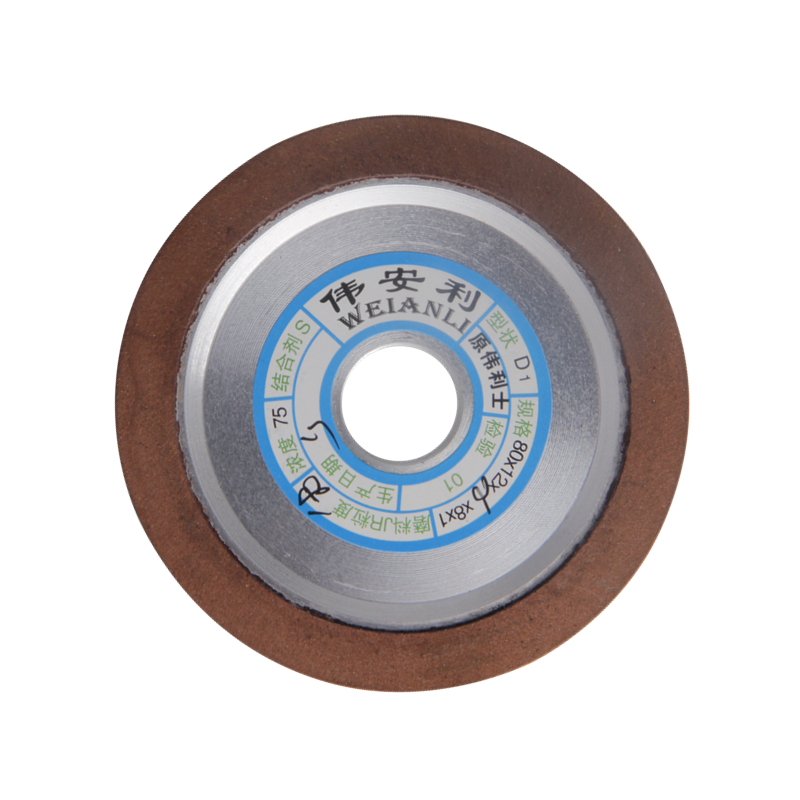 Diamond Grinding Wheels 80*16mm Grinding Dish Wheels Power Tool 150/180/240/320 Grits For Carbide Milling Cutter 1pc