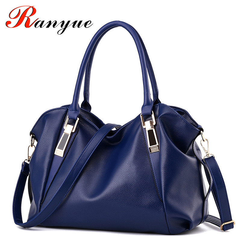 RANYUE Brand Luxury Women Handbags Famous Designer PU Leather Crossbody Bag 2017 New Fashion Female Messenger Bags Handle Bag fashion casual michael handbag luxury louis women messenger bag famous brand designer leather crossbody classic bolsas femininas