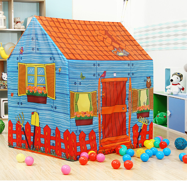 Kid Tents Part - 43: New Arrival Childrenu0027s Toys Tents Indoor Outdoor Childrenu0027s Room Mongolia  Game House Farm House Castle Kid