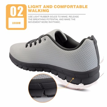 FORUDESIGNS Blue Cute Nurse Bear Brand Designer Flats Shoes Women Shoes Woman Casual Lace-up Light Shoes For Female Walking Flat