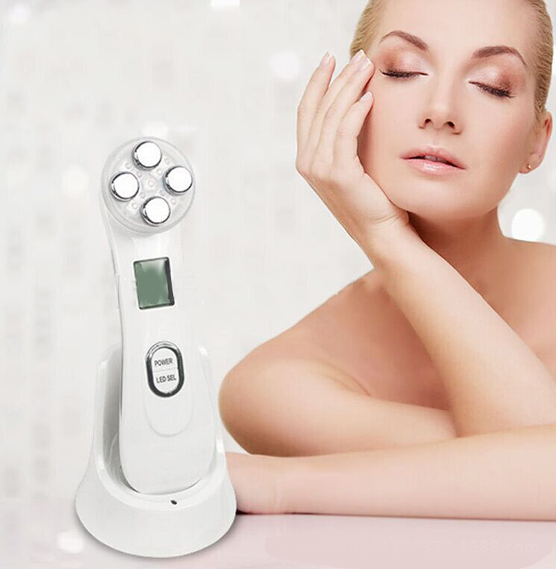 Face Skin EMS Mesotherapy Electroporation RF Radio Frequency Face LED Photon Skin Care Device Face Lift Tighten Beauty MachineFace Skin EMS Mesotherapy Electroporation RF Radio Frequency Face LED Photon Skin Care Device Face Lift Tighten Beauty Machine