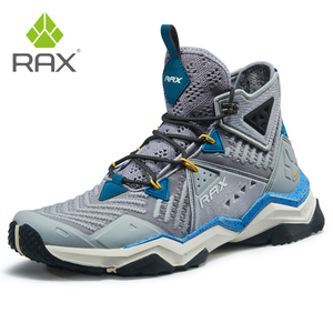 Image 1 - RAX Men  Professional Hiking Shoes Boots Outdoor Climbing Boots for Mountain Camping Sneakers for Men Trekking Boots Big Size