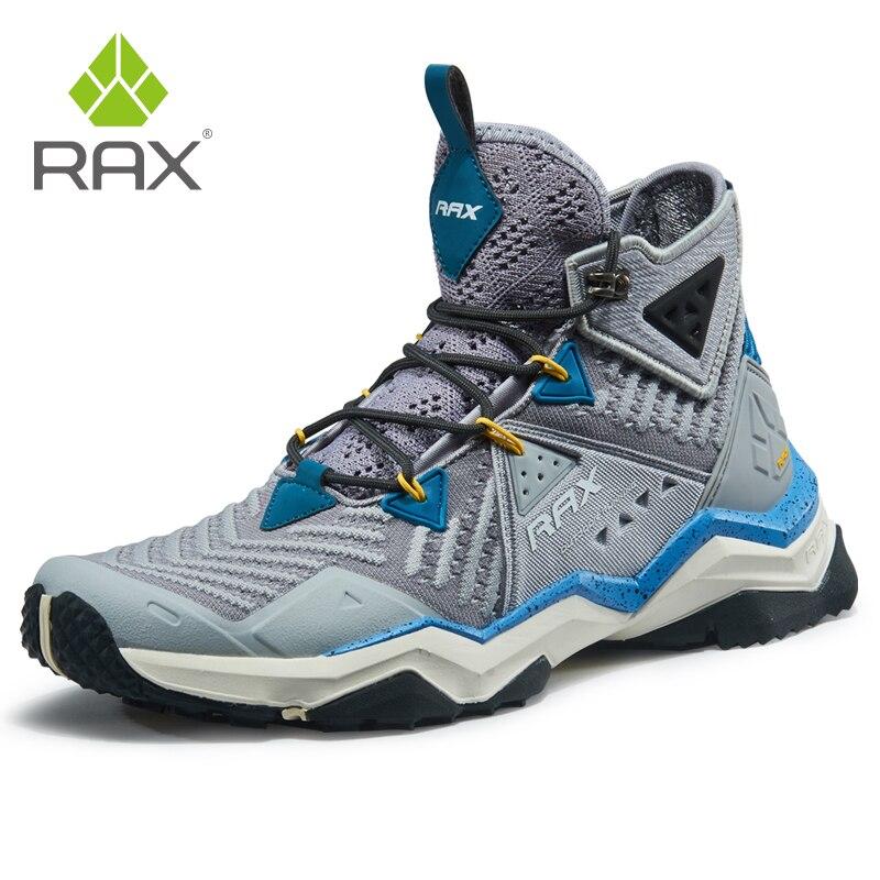 RAX hommes chaussures de randonnée professionnelles bottes en plein air escalade bottes pour Camping de montagne baskets pour hommes Trekking bottes grande taille