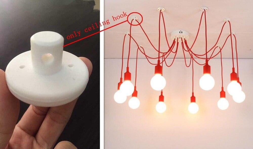 Chandelier Pendants Parts: 10pcs/lot Black White 2 Color Chandelier parts,pendant lamp parts Free  shipping(,Lighting