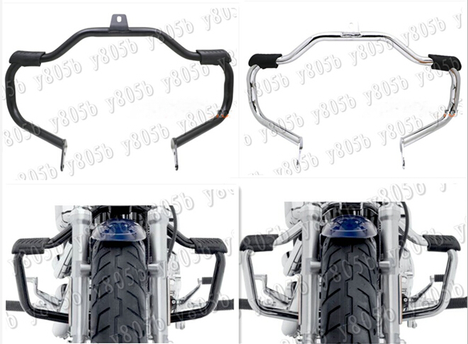 New Motorcycle Metal Steel Engine Guard Crash Bar For Fit