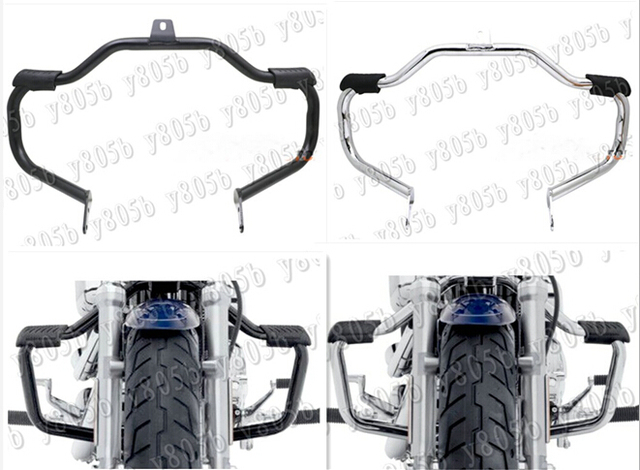 New Motorcycle Metal Steel Engine Guard Crash Bar For