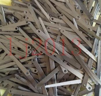 100 szt Sprężyny do klarnetu sax klarnet Części do naprawy sax 40mm tanie i dobre opinie Mosiądz Niklowane Spada dostroić b (c) NoEnName_Null Bakelitu sax neck