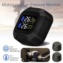 M3 LCD Motorcycle TPMS System monitorowania ciśnienia w oponach z USB czujniki zewnętrzne Moto wodoodporny bezprzewodowy manometr alarmowy