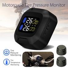 M3 lcd motocicleta tpms sistema de monitor pressão dos pneus com usb sensores externos moto à prova dwireless água alarme sem fio medidor pressão