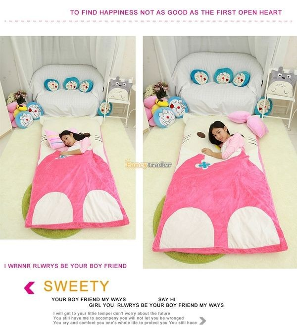 Fancytrader 200cm X 180cm Lovely Plush Stuffed Hello Kitty Mattress Bed Tatami Sofa Carpet, FT50670 (13)