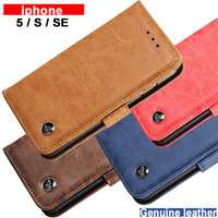 For Iphone 5 S Se Case Cover Leather Luxury Pu Flip Case For Apple Iphone5 5s