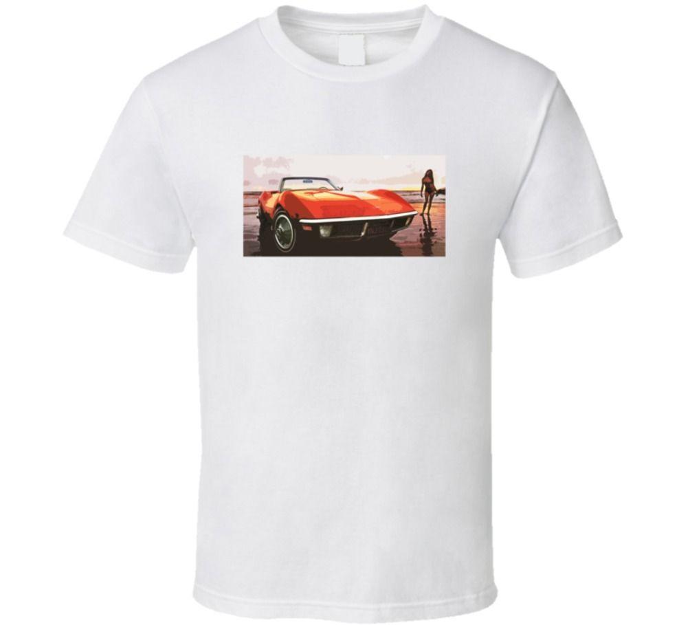 Legend car body for sale - Gildan Chevy Corvette 1970 Car Ad Graphic Classic Legend Trending Fan T Shirt China
