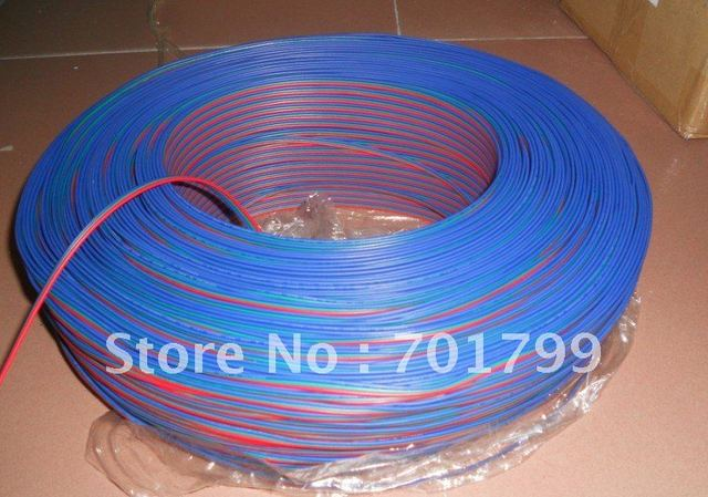 50m/lot 3pin RGB 18AWG cable for led pixel module