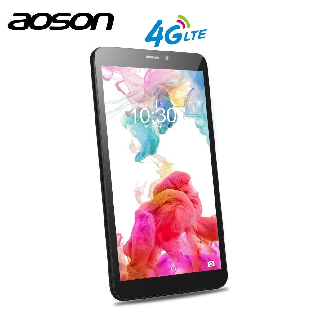 SIM CARD Aoson S8 PRO 8 pollici 3G 4G Smart Phone Tablet Android 6.0 IPS 1028*800 quad Core 1 GB di RAM 16 GB di ROM 5MP OTG della macchina fotografica GPS