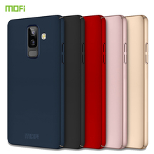 For Samsung Galaxy J8 2018 Case MOFI Fitted Cases PC Hard Case For Samsung Galaxy J8 2018 Cover Phone Shell Ultra thin Cover mofi for samsung galaxy a40 phone cases ultra thin slim cover case protective back shell for samsung galaxy a40