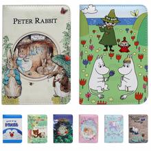 Cartoon Totoro KITTY paszport pakiet dostaw podróży dokumenty odbierać bilet Clip Travel Bag Travel Case Travel bagaż okładka tanie tanio Przyjaciele na zawsze Masz Odbitki zwierzęce Pokrowce na paszport Skóra PU 1 cm 15cm 0 075 kg 10 cm Chiny (kontynent)