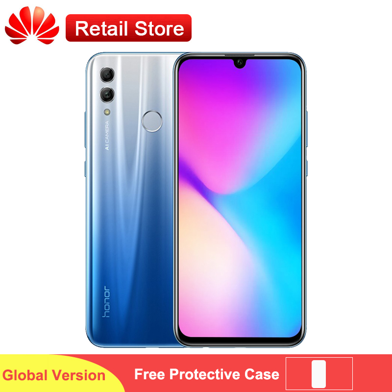 Honor 10 Lite 4G Global Phone 3GB 64GB 6 21 FHD Display Kirin 710 Octa Core