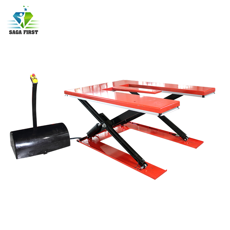 Fixed Scissor Lift Platform Small Portable Pallet Lifting Equipment