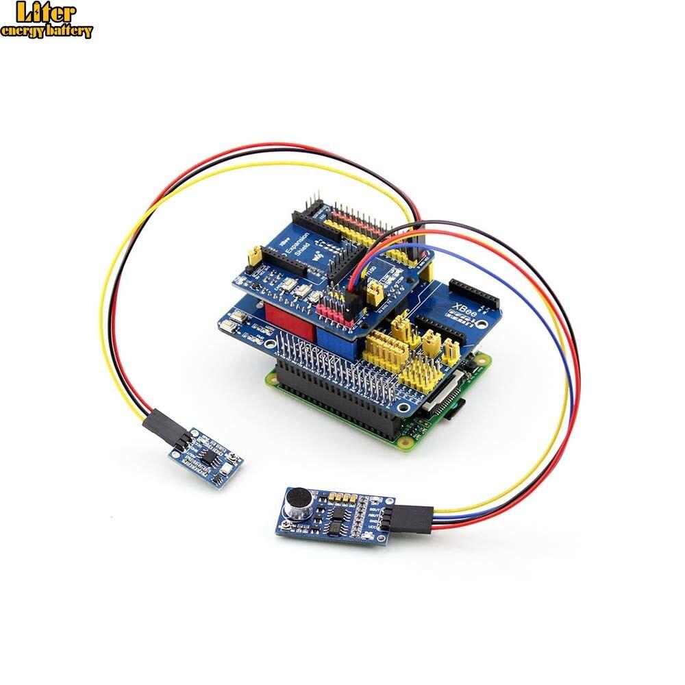 ARPI600 IO Placa de Expansão para todos 3 RPi B/3B +/2 B para Controle de Motor/GSM /GPRS Escudo XBee com Várias Interfaces