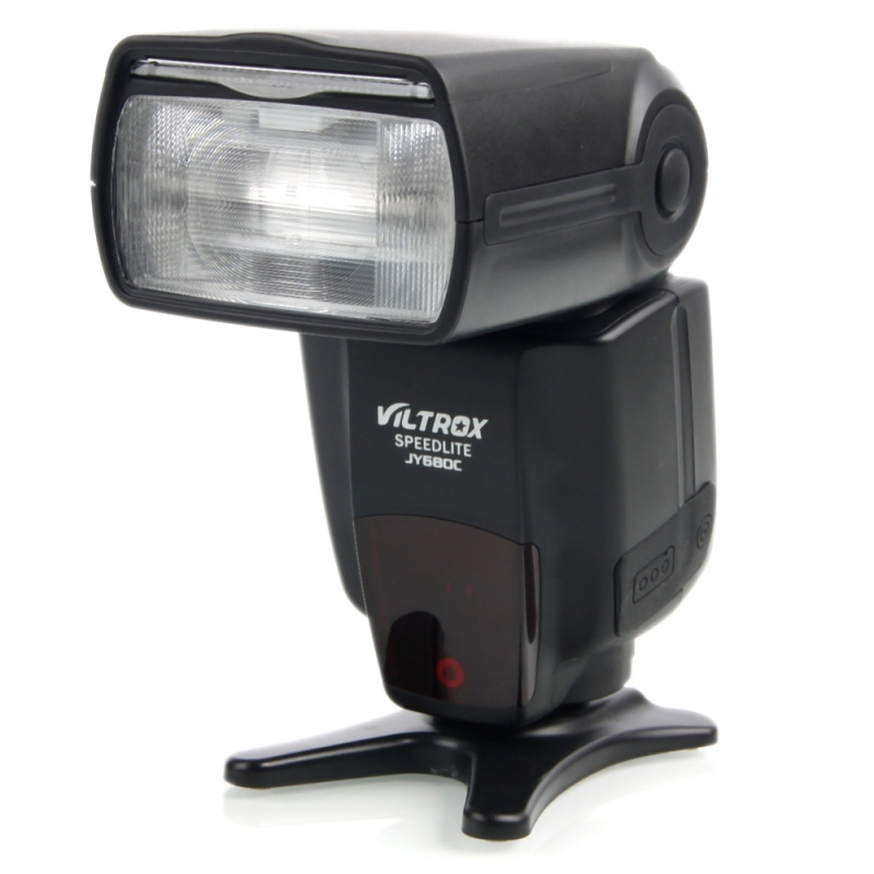 цена на VILTROX JY-680C E-TTL Speedlite Flash Light for Canon EOS DSLR Cameras 5D II 5D3 650D 550D 450D 6D 7D 60D t5i t4i t3i