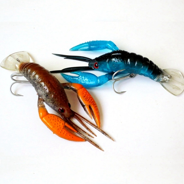 Высококачественная брендовая мягкая искусственная приманка приманки в виде креветки VMC Крючки рыболовная приманка 10,5 см 13 г морской окунь зимние снасти для подледной рыбалки