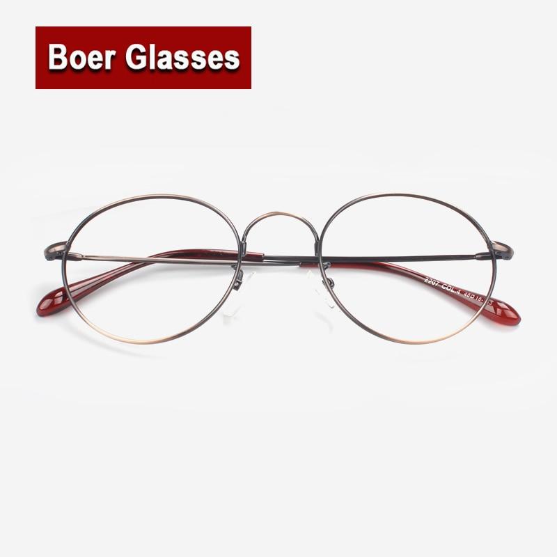 f47a8ac6844 New Retro Metal Full Rim Eyeglasses Frame Optical Acetate Women Fashion Eyewear  Prescription Spectacles Frame 2207