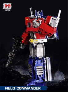 Image 2 - קומיקס מועדון BMB G1 שינוי OP שדה מפקד Oversize להגדיל PP 09 PP09 פעולה איור רובוט צעצועים