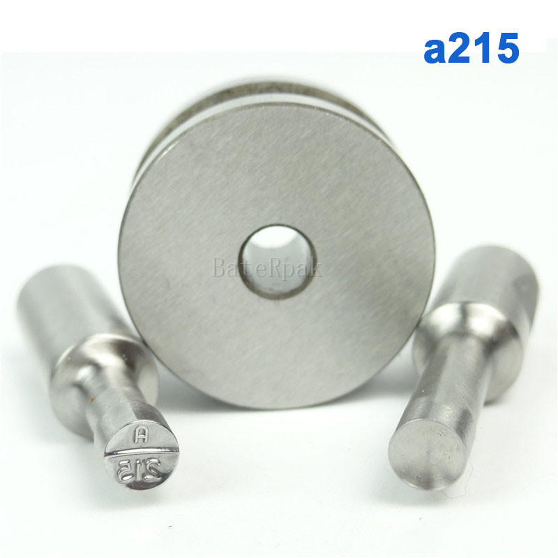 a215 BateRpak Stamp Circlar Round Die Mold/ Press Mold/Punch Die Mould/press die Dia.6mm Round TDP-0/1.5T/5T 1 set double punch tablet press machine digit round stamp applicable model tdp 1 5 tdp 5 tdp0 tdp 6