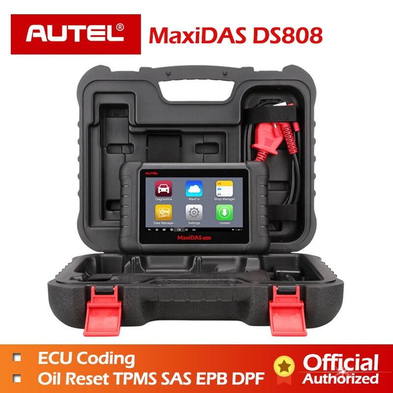 [Autel Дистрибьютор] autel MaxiDas DS808 следующее поколение DS708/DS 708 автомобильной диагностики и анализ Системы