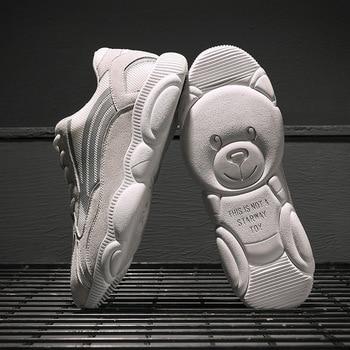 Men's Shoes 2019 New Bear Shoes Father's Shoes Leisure Sports Shoes Comfortable