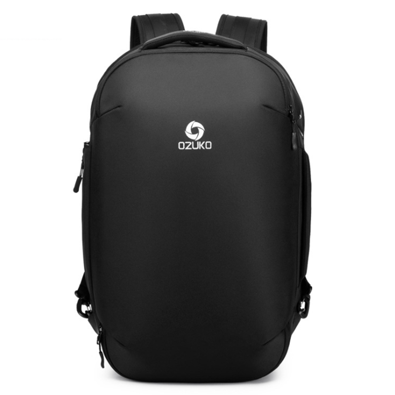 OZUKO 2019 Anti theft กระเป๋าเป้สะพายหลังชาย 15.6 นิ้วแล็ปท็อปกระเป๋าเป้สะพายหลังแฟชั่นโรงเรียนกระเป๋าสำหรับวัยรุ่นกระเป๋ากันน้ำนักเรียน Travel-ใน กระเป๋าเป้ จาก สัมภาระและกระเป๋า บน AliExpress - 11.11_สิบเอ็ด สิบเอ็ดวันคนโสด 1