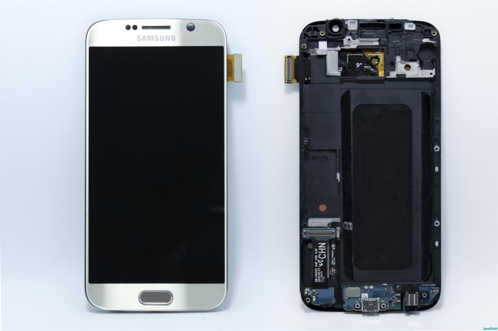 100% Original Tested Super Amoled For Samsung Galaxy S6 G920F Lcd Display Touch Screen Digitizer Assembly + Front Frame
