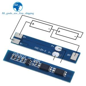 TZT 2S 3A Li-ion Lithium Battery 7.4v 8.4V 18650 Charger Protection Board bms pcm for li-ion lipo battery cell pack(China)