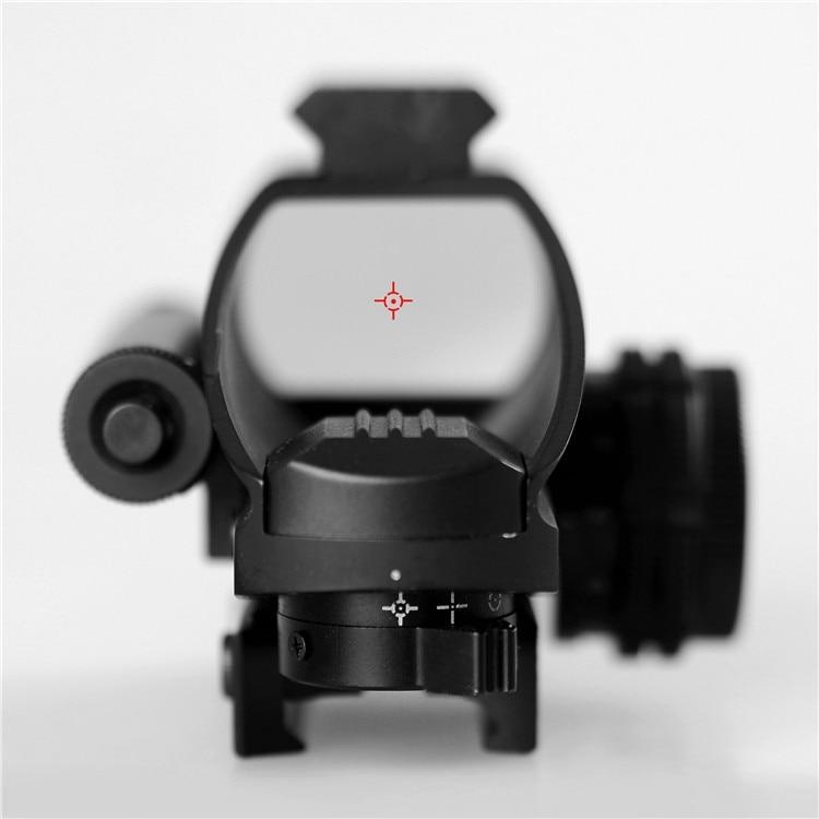 Nouveau Mini portée à point rouge avec Vision nocturne LLL visée Laser fusil à Air comprimé lunette de visée télescope de chasse en plein Air