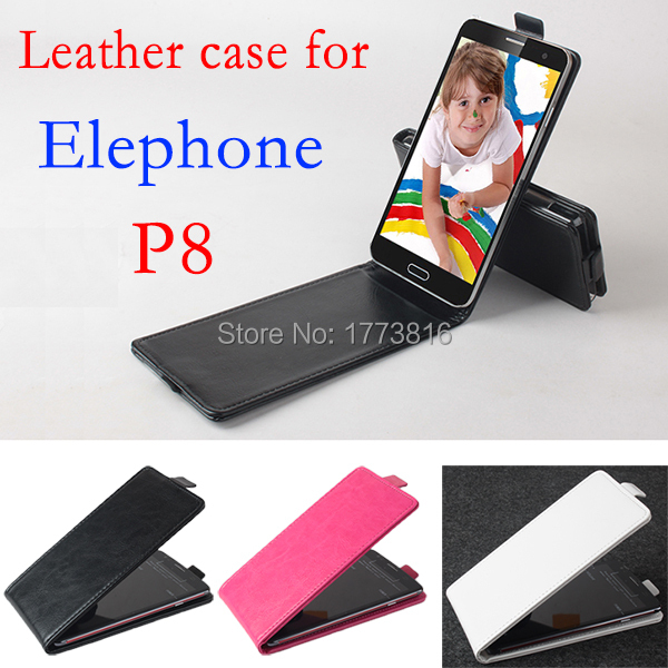Ele phone cover elephone p8 case leather flip case