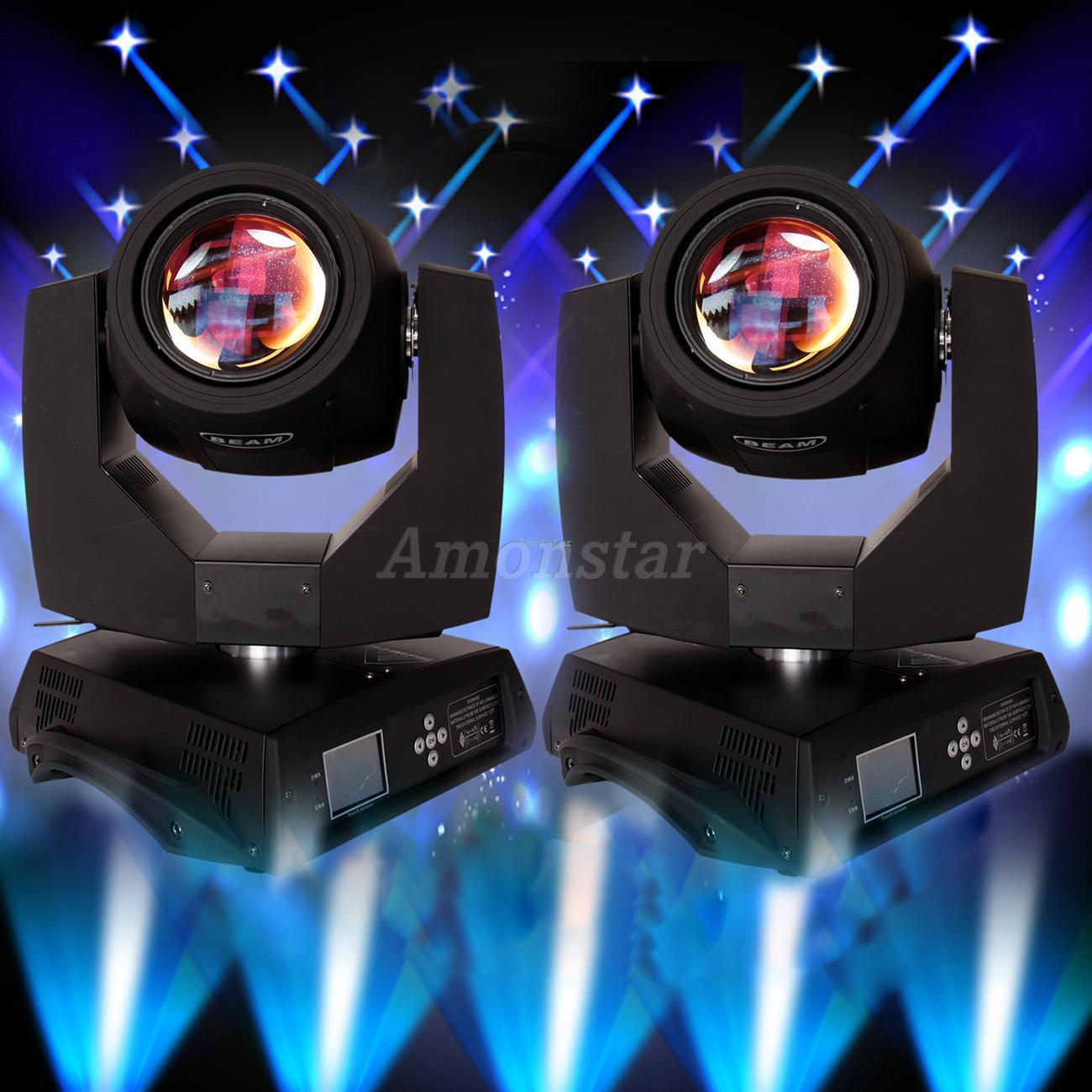 2X 230w Zoom Moving Head Stage Light DMX 512 Beam 7R Osram 16Ch 14 Colors Spot