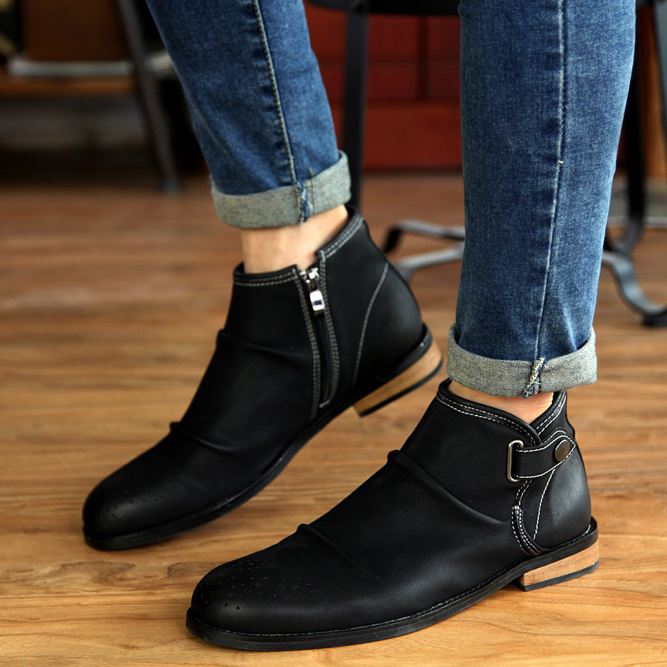 Short Boots Men - Yu Boots