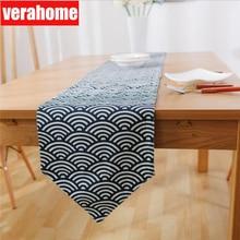 Japanese zakka Table Runner linen for dinner room  Tablecloth home decor